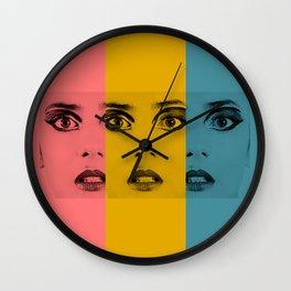 Pretty Fright 2 Wall Clock