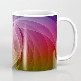 Colors in Motion Fractal Art Coffee Mug