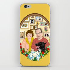 For Mr. and Mrs Schmitt iPhone & iPod Skin