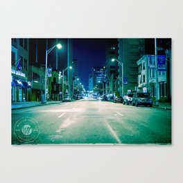 Get with the program. Canvas Print