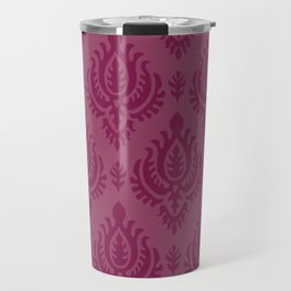 Purple Baroque Travel Mug