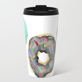 Watercolor donuts Travel Mug