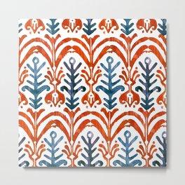 Balinese Pattern 21 Metal Print