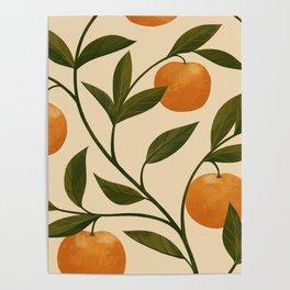 Lucky Tangerines Poster