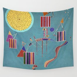 Wassily Kandinsky Private Party Wall Tapestry