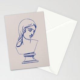 Photocopy bust Stationery Cards
