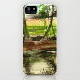 Sternberg Pond iPhone Case