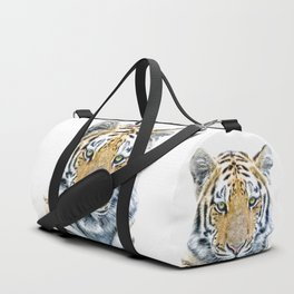 Tiger portrait Duffle Bag