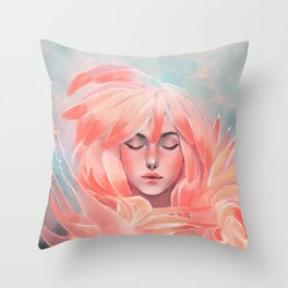 Sea slug Throw Pillow