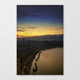 From the top of the bridge. Porto, Portugal. Canvas Print