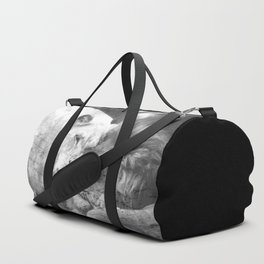 Lion in Love Valentine's Day Duffle Bag