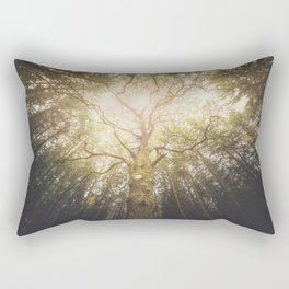 I found a tree in the forest Rectangular Pillow