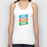 greg guillemin Tank Tops featuring Greg Davis Park by Parks of Seattle