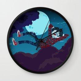 Marshall lee Wall Clock
