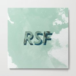 RSF 2 SEPT 16 Metal Print
