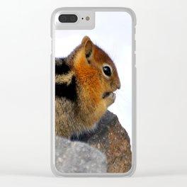 Furry Friend Clear iPhone Case