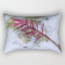 Pink Bromelia Rectangular Pillow