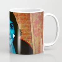 amelie Mugs featuring Amelie by Anna Siviero