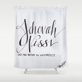 Jehovah Nissi Shower Curtain