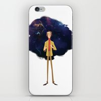carl sagan iPhone & iPod Skins featuring Carl Sagan by Alan Carvalho