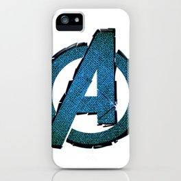UNREAL PARTY 2012 AVENGERS LOGO FLYERS iPhone Case