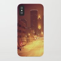 minneapolis iPhone & iPod Cases featuring Minneapolis by SaltyDesigns