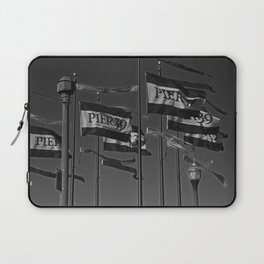 The Flags at Pier 39 Laptop Sleeve