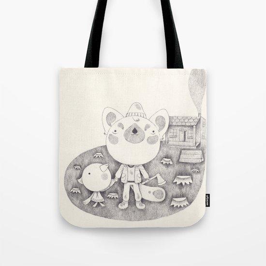 le cabanon Tote Bag