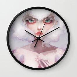 Le coeur des crocus... Wall Clock