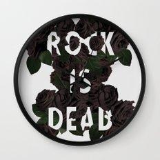 Rock is Dead Wall Clock