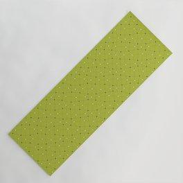 Chemistry Class Doodles - Lime Yoga Mat