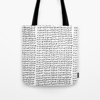 hiphop Tote Bags featuring HipHop  by Geryes