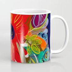 Beautiful flower art pattern decorative Coffee Mug