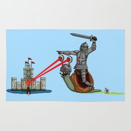 The Knight and the Snail - Random edition Rug