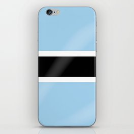 Botswana Flag iPhone Skin