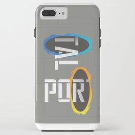 POR---TAL iPhone Case