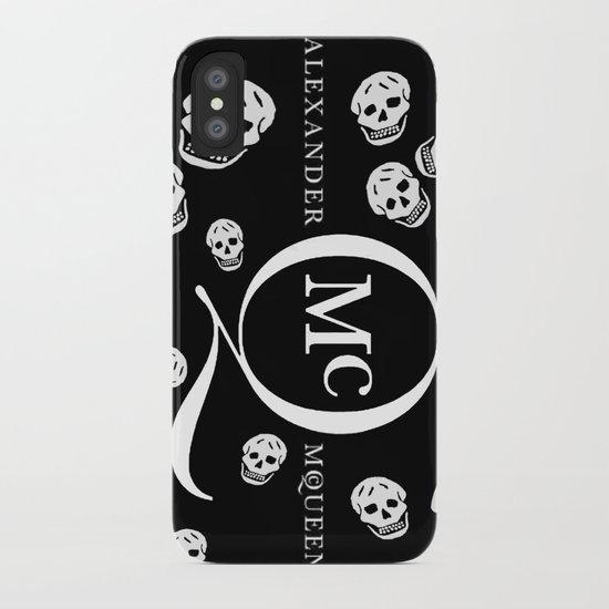God Save ALEXANDER McQueen iPhone Case