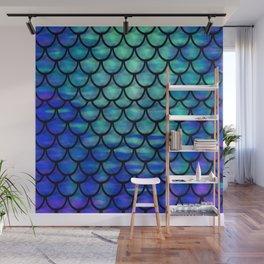 Ocean Mermaid scales Wall Mural
