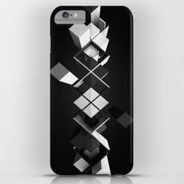 Argyle Deconstruction iPhone Case