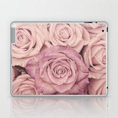 Some people grumble - Pink rose pattern- roses Laptop & iPad Skin
