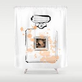 Beghe Perfume Shower Curtain