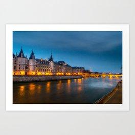 For Paris Lovers : Conciergerie Art Print