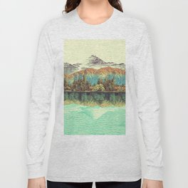The Unknown Hills in Kamakura Long Sleeve T-shirt