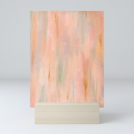 Desert Sunset in Acrylic v.3 Mini Art Print