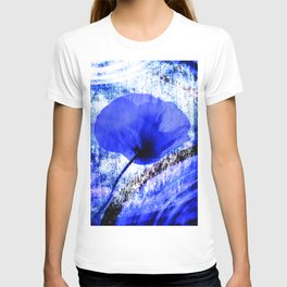Blue Poppy vintage 222 T-shirt