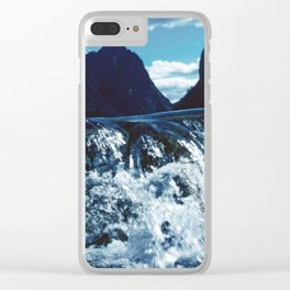 Spring Awakening in the Mountains Clear iPhone Case