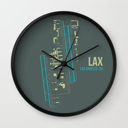 LAX Wall Clock