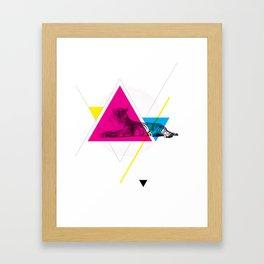 HYPSTER TYGER Framed Art Print