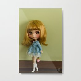 little dreamer -Dolls- blythe -Decor-Art Photography Metal Print