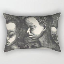 African American Art Rectangular Pillow